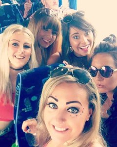 Festival selfie at EDCUK 2016